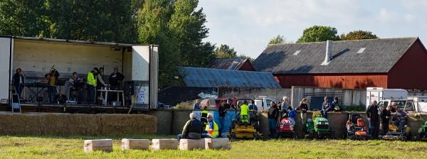 Grasklippar race startplatsen