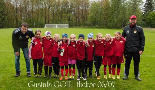 Gustafs GOIF flickor 06 07